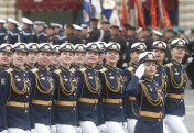 Putin na vojnoj paradi čestitao Dan pobede nad fašizmom (FOTO) 30