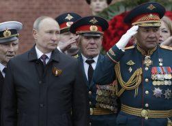 Putin na vojnoj paradi čestitao Dan pobede nad fašizmom (FOTO) 23