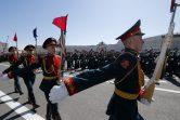 Putin na vojnoj paradi čestitao Dan pobede nad fašizmom (FOTO) 17