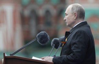 Putin na vojnoj paradi čestitao Dan pobede nad fašizmom (FOTO) 76