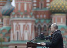 Putin na vojnoj paradi čestitao Dan pobede nad fašizmom (FOTO) 74