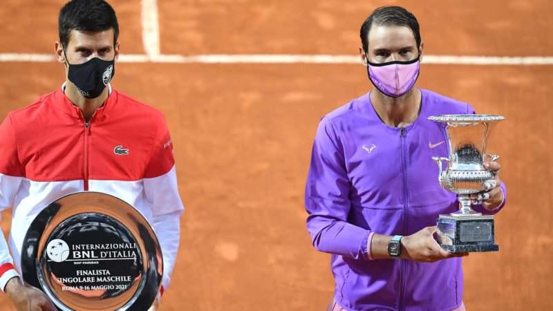 Poraz Đokovića od Nadala u finalu Mastersa u Rimu 1
