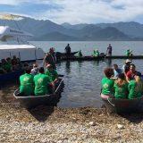 U akciji čišćenja Skadarskog jezera sakupljeno 250 džakova otpada 4