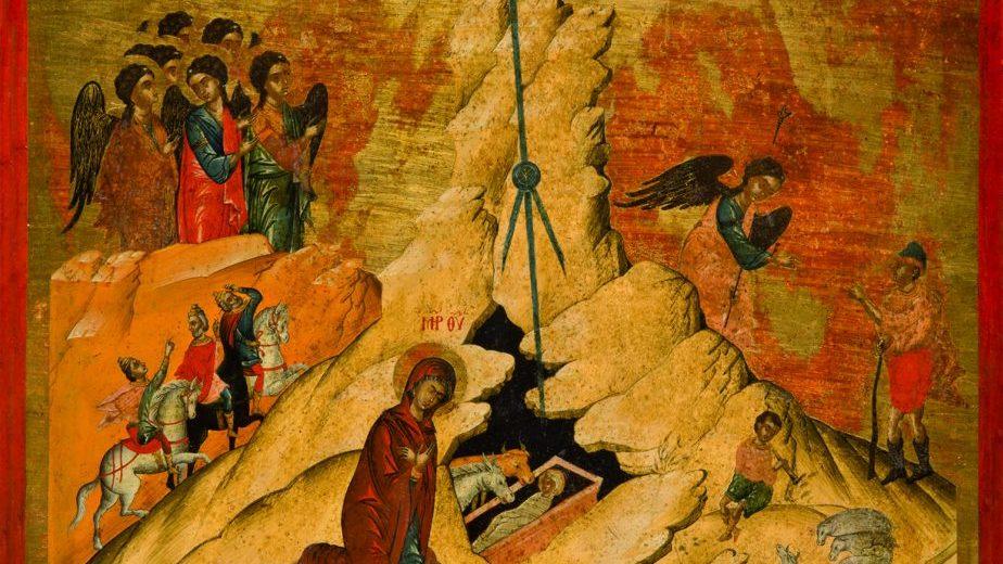 """Otvorena izložba ikona grčkih majstora od 15. do 19. veka """"Pod zlatnim i plavim nebom"""" 1"""