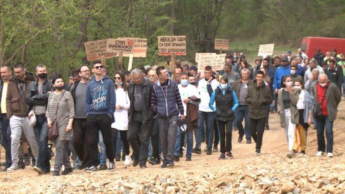 Ekološki aktivisti na Rađevici: Država da prestane sa zločinom ili opšta pobuna 3
