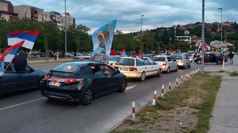 Podgorica: Građani slave, Joanikije ne dolazi ispred Hrama 1