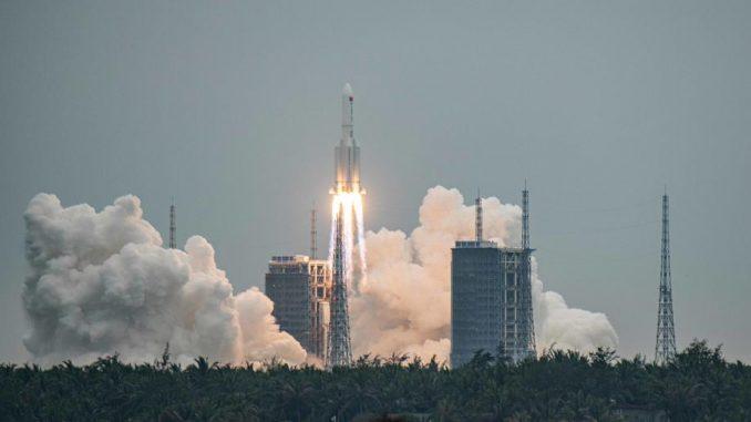 Pad kineske rakete na Zemlju očekuje se tokom noći ili ranog jutra 5