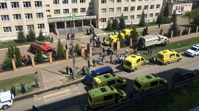 Najmanje devet mrtvih u napadu u školi u Rusiji 3