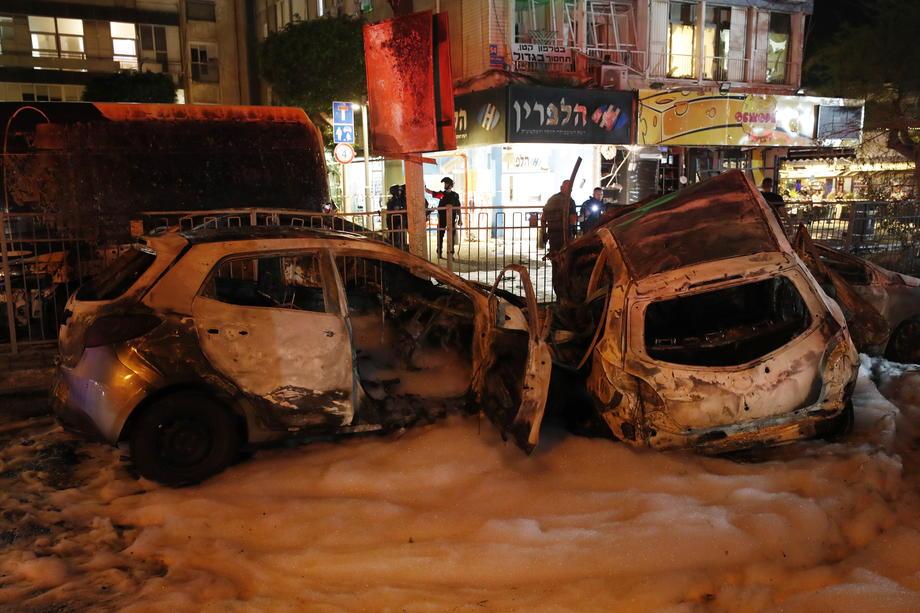 Sirene u Tel Avivu, Hamas ispalio 130 raketa na grad 3
