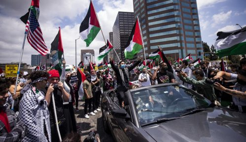 Hiljade demonstranata na ulicama većih gradova SAD tražilo prekid vazdušnih napada na Gazu 15