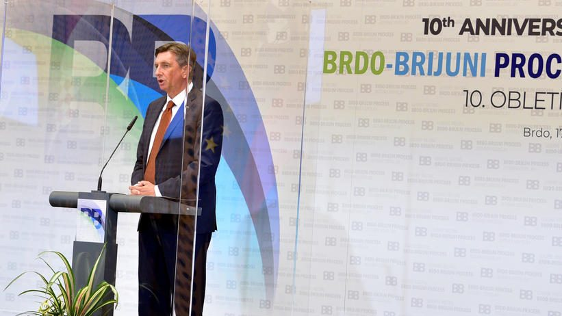 Pahor: Bez spominjanja nepromenljivosti granica zbog insistiranja Vučića 1