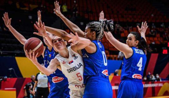 Prva pobeda naših košarkašica na šampionatu Evrope 7