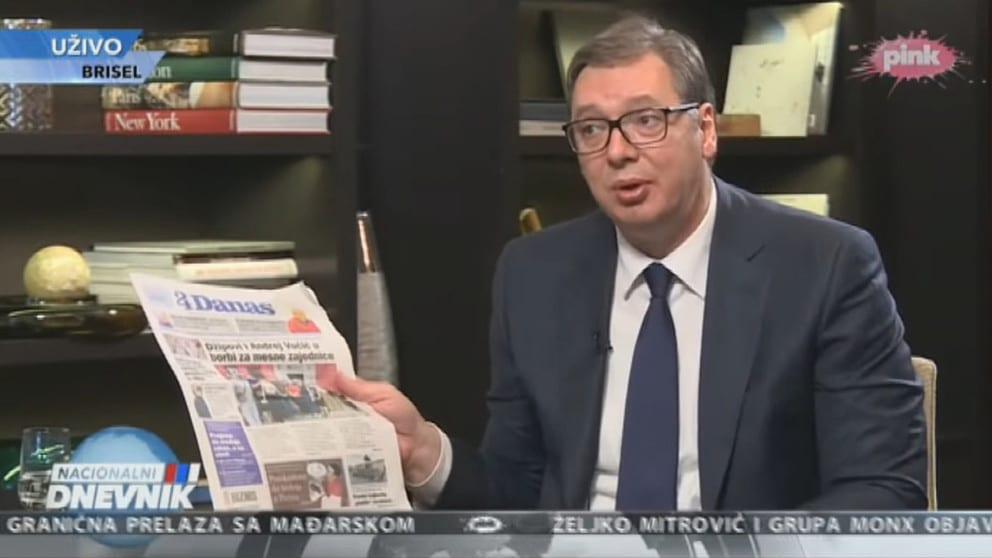 """Opasna izjava Vučića da je Danas """"fašistička propaganda"""" 1"""