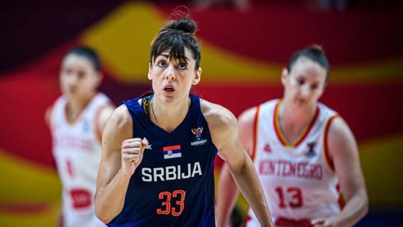 Košarkašice Srbije u četvrtfinalu Evropskog prvenstva 1