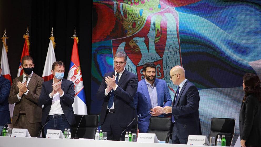 Vučić bi četvrti put mogao da bude izabran za predsednika SNS 1