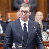 Atmosfera u parlamentu tokom obraćanja Vučića nalikovaće sednici GO SNS 13