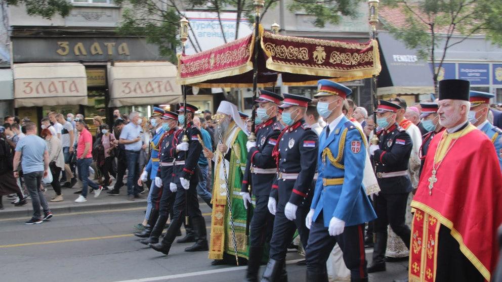 Kako je beogradska slavska litija posle 159 godina promenila trasu? 1