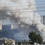 Četiri osobe povređene u požaru u skladištu raketa za vatromet u Moskvi 10