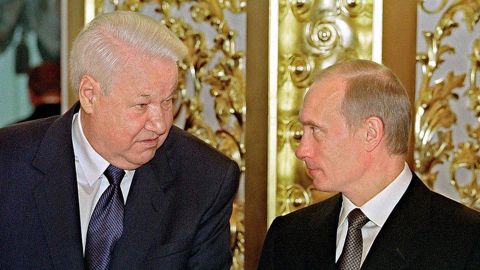 Elьcin i Putin