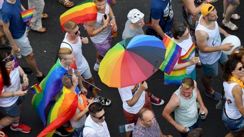 parada ponosa u budimpešti lgbt