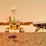 Svemir, istraživanja, Kina: Rover Džužong napravio selfi na Marsu 9