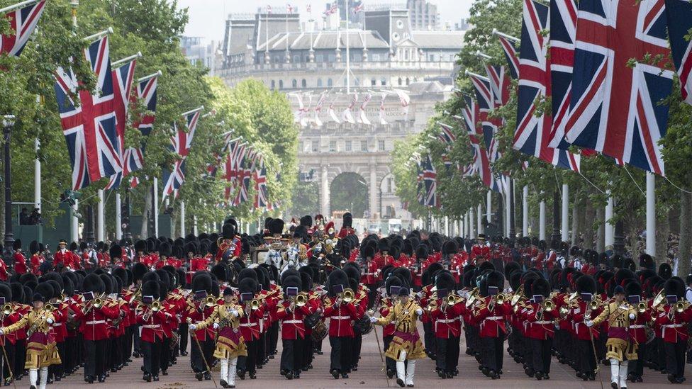Vojna parada održana je u manjem obimu zbog pandemije.