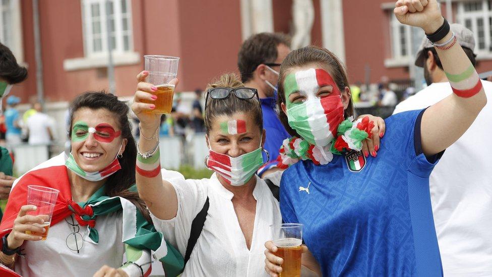 EURO 2020 i fudbal: Neverovatan niz Italijana i impresivna gol-razlika 15