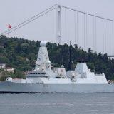 Rusija, Velika Britanija i Krim: Ruski vojni brodovi i avioni prate britanski razarač u Crnom moru 15