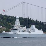 Rusija, Velika Britanija i Krim: Ruski vojni brodovi i avioni prate britanski razarač u Crnom moru 13