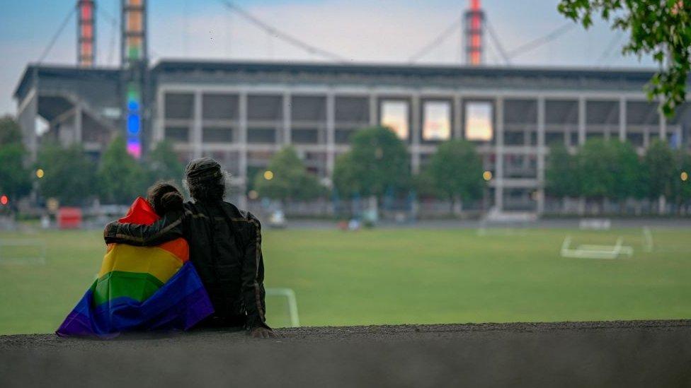 Cologne stadium on 23 June