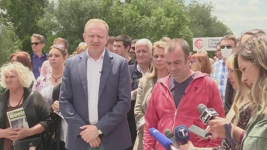 Đilas (SSP): Besmislene optužbe da su ekološki protesti politizovani 17