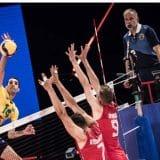 Odbojkaši Srbije bez bodova protiv Brazila 11
