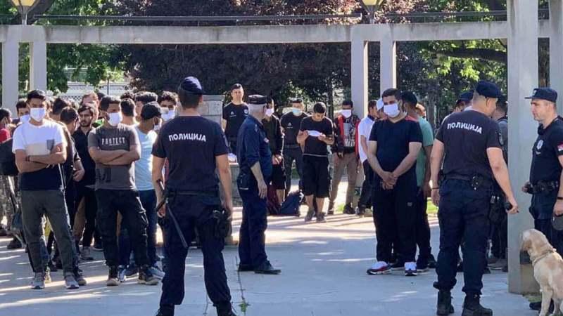 MUP: U centru Beograda pronađeno 126 ilegalnih migranata 1