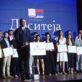 """Vučić uručio stipendije """"Dositeja"""" najboljim studentima Univerziteta u Beogradu 4"""