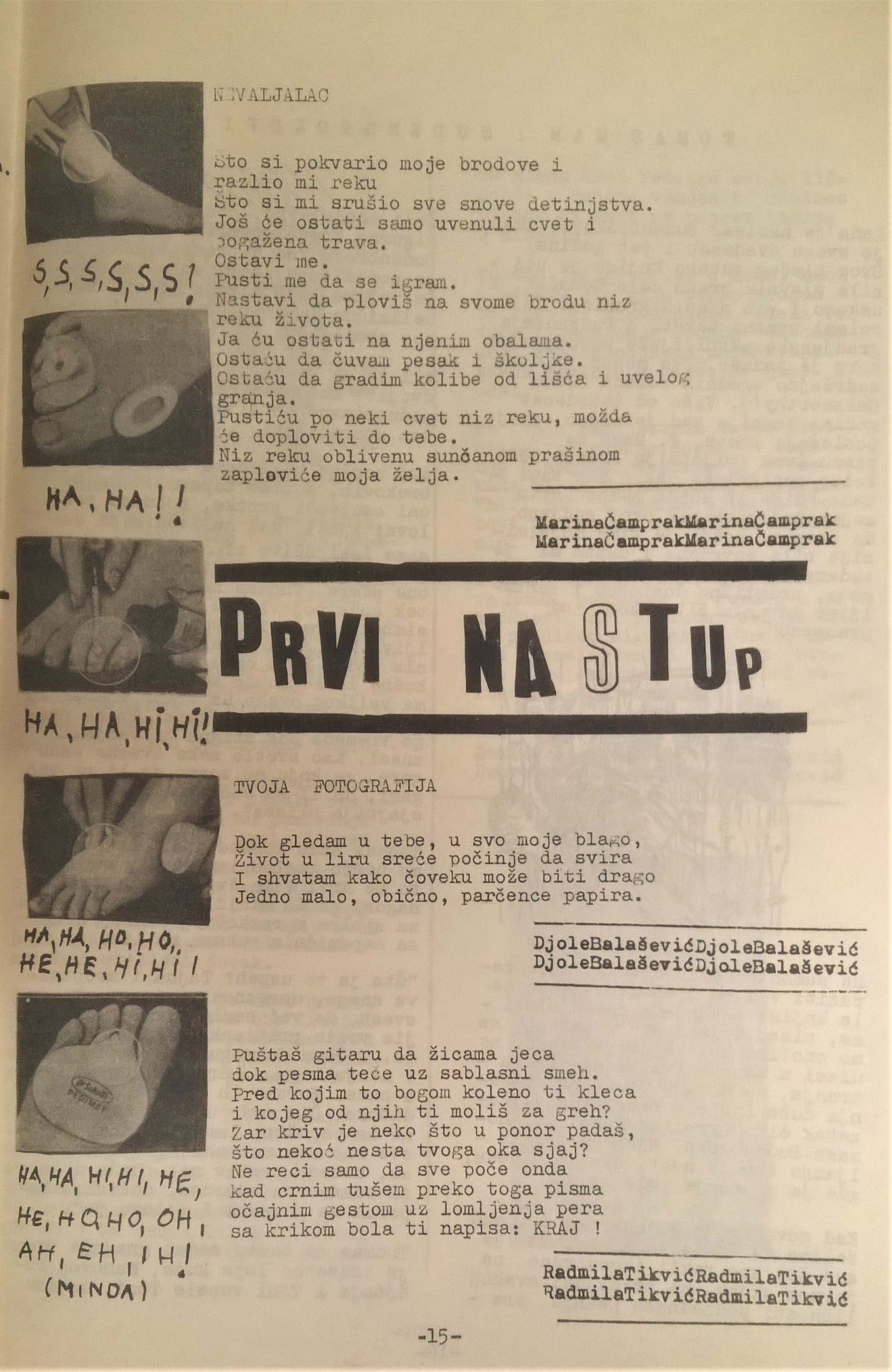 Dosad neobjavljene pesme Đorđa Balaševića iz gimnazijskih dana 5
