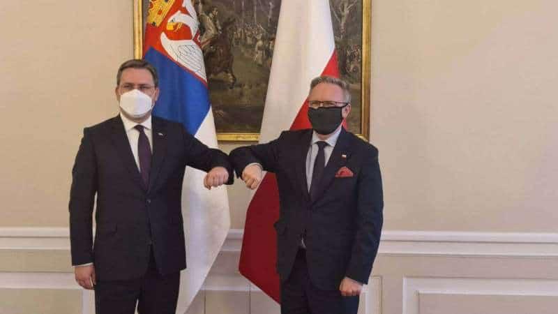 Ministar spoljnih poslova Srbije u Poljskoj: Odnosi dobri, dve zemlje povezuje prijateljstvo 1