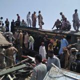 Novi bilans: U železničkoj nesreći u Pakistanu 63 osobe stradale 14