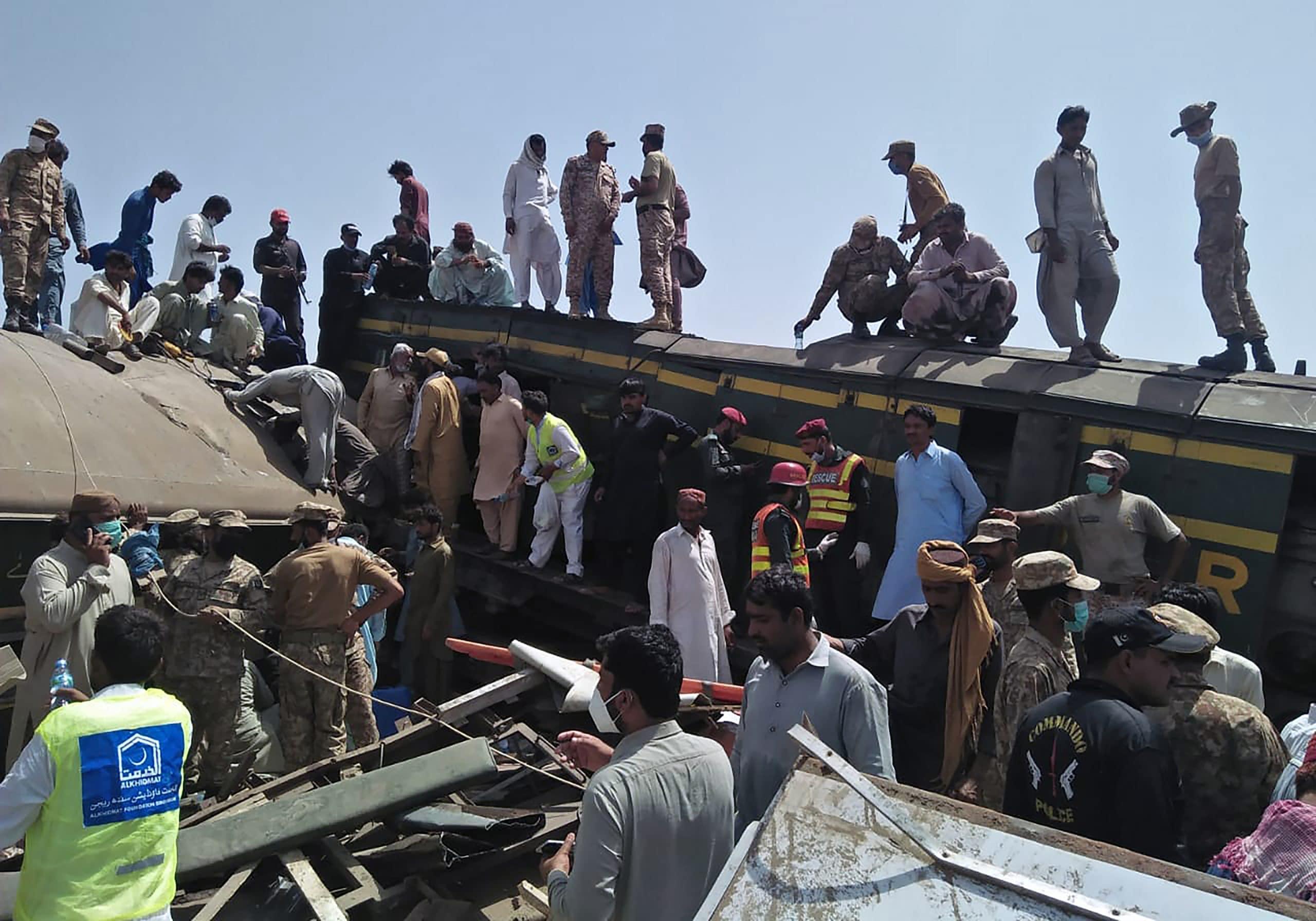 Novi bilans: U železničkoj nesreći u Pakistanu stradala 51 osoba 1