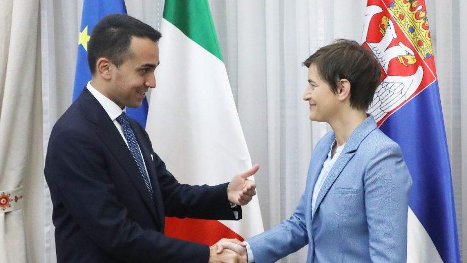 Brnabić i Luiđi di Majo: Bez jake Italije ni Srbija ne može biti jaka 1