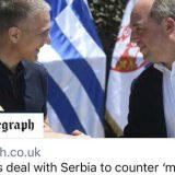 """Telegraf: Britanija pomaže Srbiji da se odupre """"malignom uticaju"""" Rusije 8"""