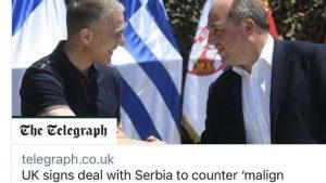 """Britanija pomaže Srbiji da se odupre """"malignom uticaju"""" Rusije 14"""