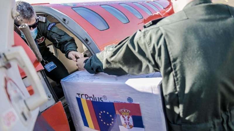 Rumunija donirala Srbiji vakcine 1