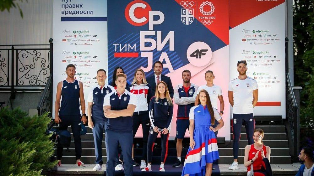 Predstavljena kolekcija olimpijskog tima Srbije za Tokio 1