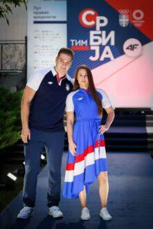 Predstavljena kolekcija olimpijskog tima Srbije za Tokio 6
