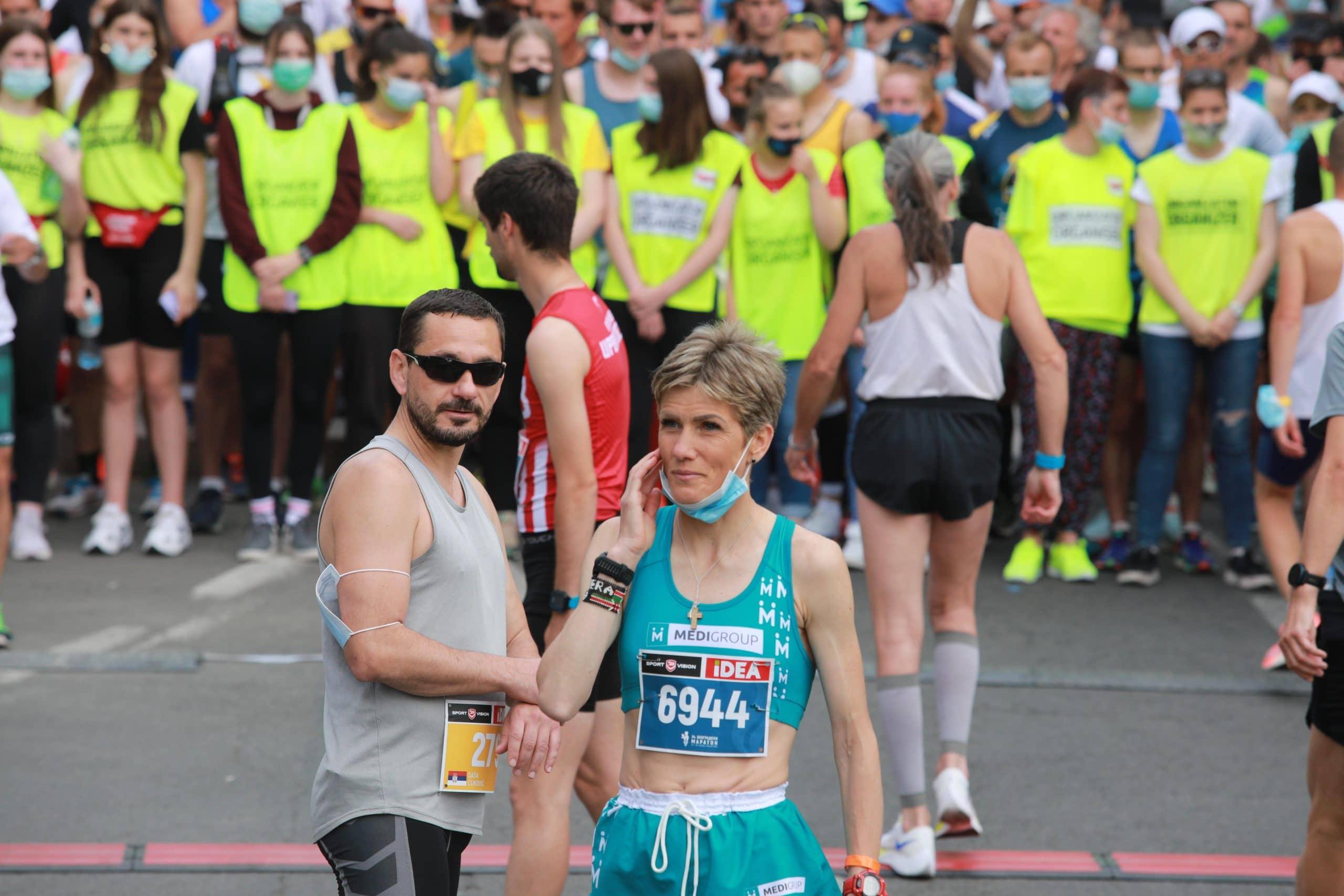 Stojka i Jovanović pobednici 34. Beogradskog maratona 2