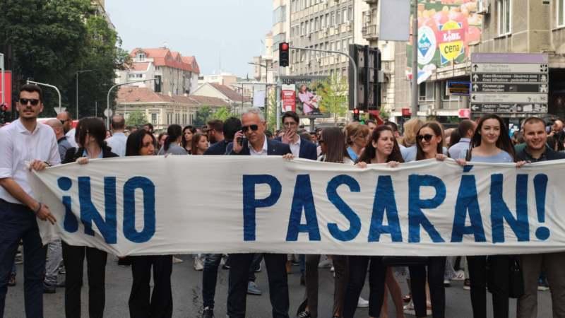 Završen protest advokata u Beogradu, najavljuju masovniji ako im zahtevi ne budu ispunjeni 1