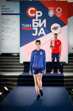 Predstavljena kolekcija olimpijskog tima Srbije za Tokio 3