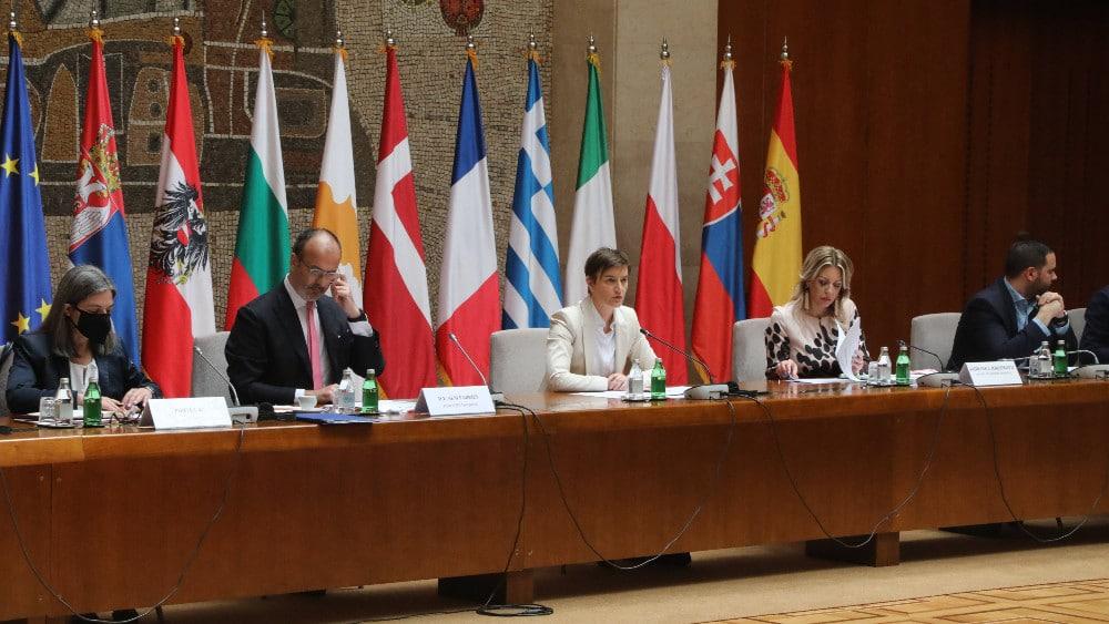 Brnabić s Delegacijom EU u Srbiji i ambasadorima o ubrzanju evropskog puta 1