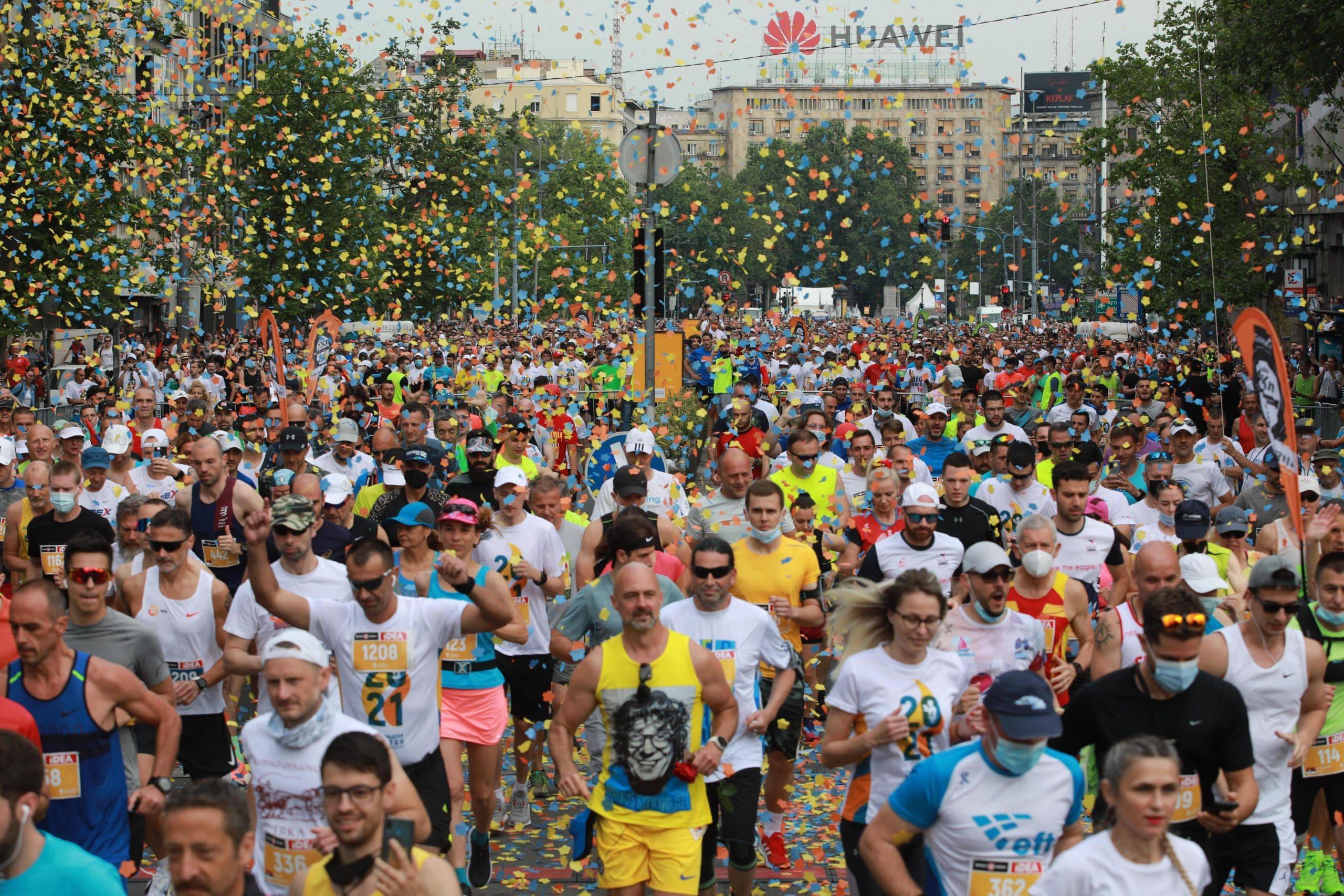 Stojka i Jovanović pobednici 34. Beogradskog maratona 1
