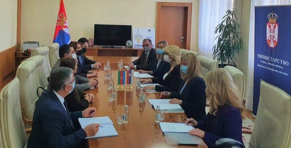 Nastavak pregovora o zaključenju Sporazuma o socijalnoj sigurnosti Srbije i Azerbejdžana 1
